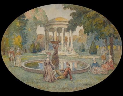 U sadu 1890