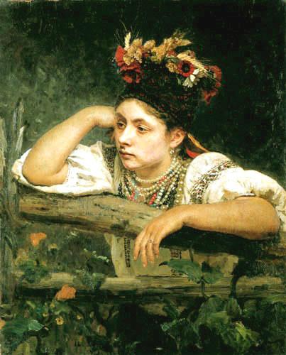 Репин Илья Украинка 1875